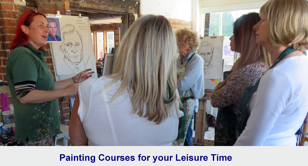 UK painting courses